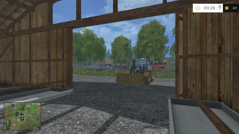 FS 15: BaleFeed Mod v 2 0 Scripts Mod für Farming Simulator 15