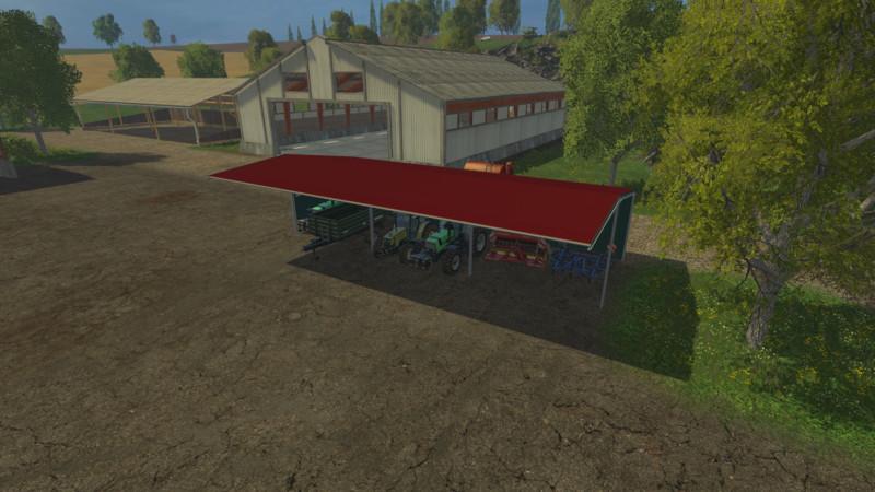 ls 15 unterstand v 2 2 objekte mod f r landwirtschafts. Black Bedroom Furniture Sets. Home Design Ideas