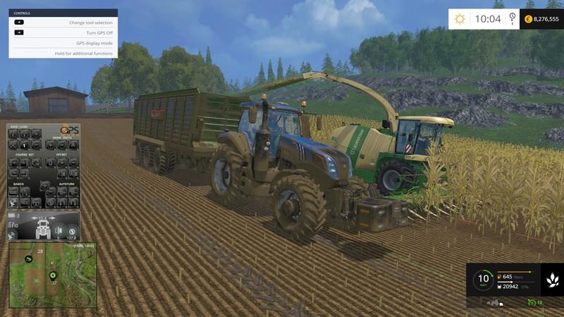 FS 15: GPS v 4 21 Scripts Mod für Farming Simulator 15 | modhoster com