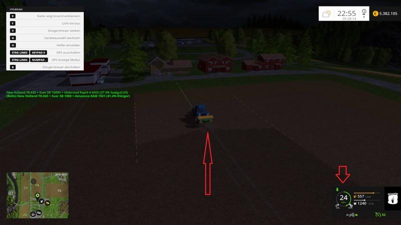 FS 15: drive control v 3 91 Scripts Mod für Farming Simulator 15