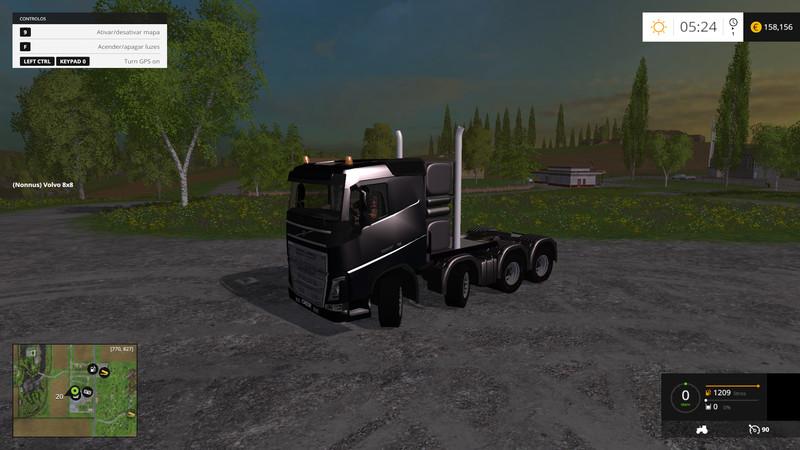 FS 15: Volvo FH16 Heavy Duty 10x10 and 8x8 Pack v 0 3 Volvo
