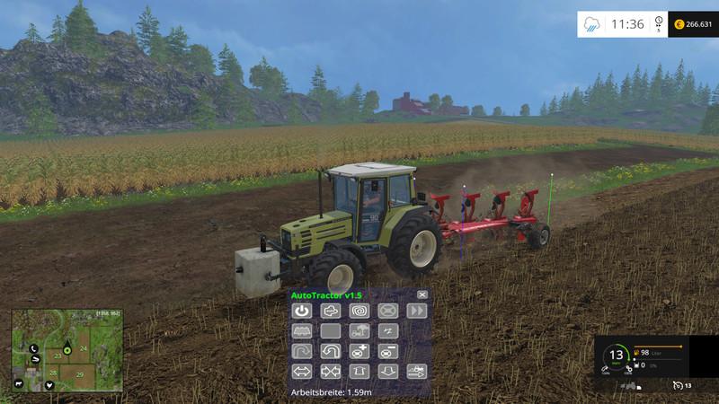 FS 15: AutoTractor v 2 6 Scripts Mod für Farming Simulator 15