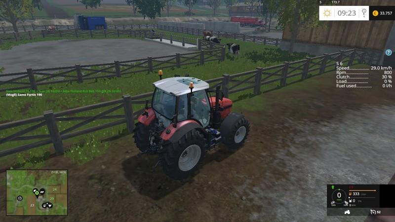 FS 15: Gearbox Addon v 1 5 Scripts Mod für Farming Simulator 15