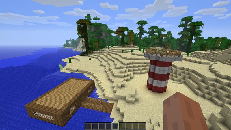 minecraft strand haus v 1 1 maps mod f r minecraft. Black Bedroom Furniture Sets. Home Design Ideas