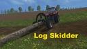 Forst-log-skidder