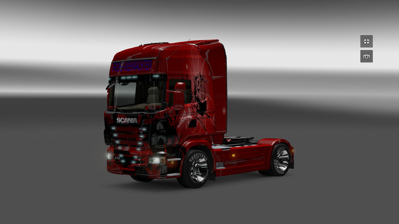 ets 2 merry christmas v merrychristmas skins mod. Black Bedroom Furniture Sets. Home Design Ideas