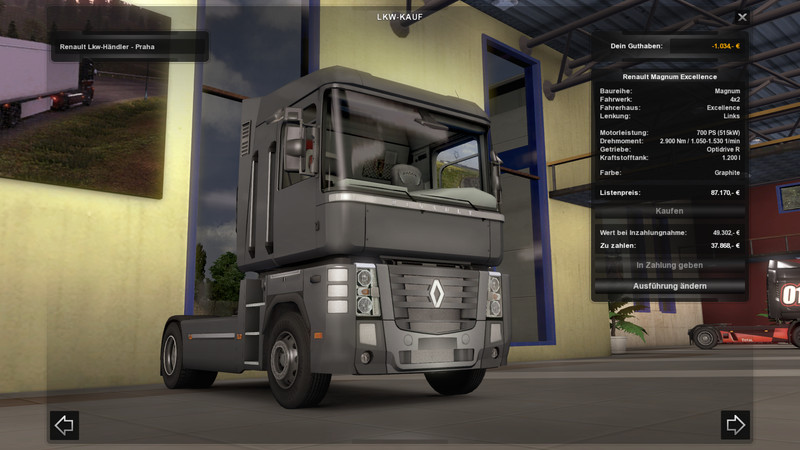 ETS 2: Renault Magnum Engine v 1 0 Renault Mod für Eurotruck