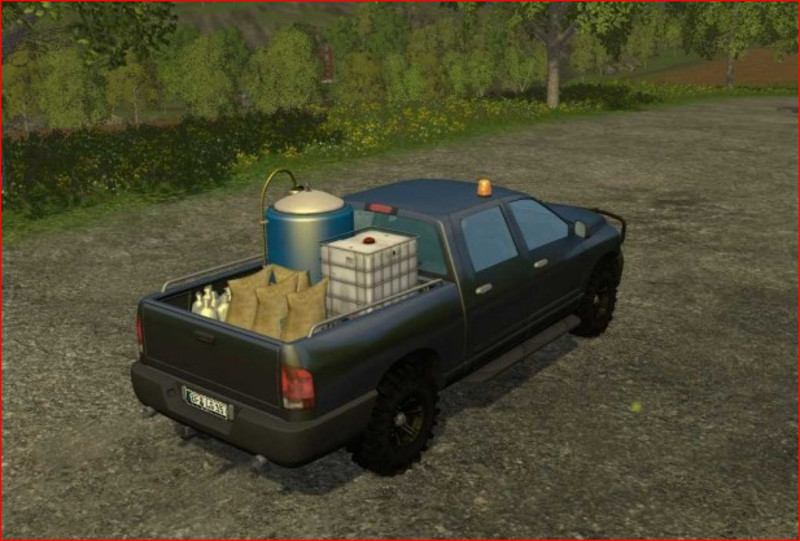 FS 15: dodge ram car service v 1 0 Cars Mod für Farming