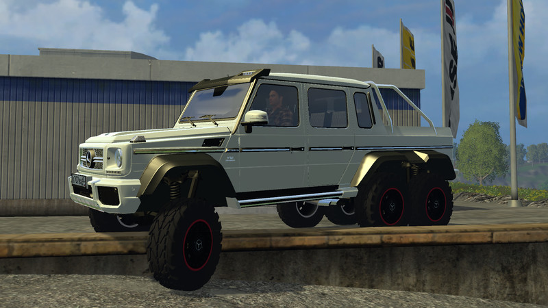 fs 15 mercedes benz g 65 amg 6x6 v 1 0 cars mod f r farming simulator 15. Black Bedroom Furniture Sets. Home Design Ideas