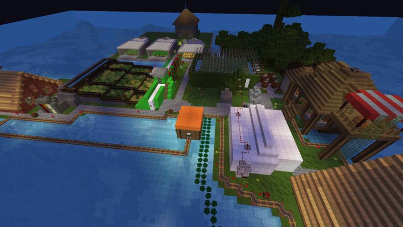 Minecraft Modern Farm V 3 0 Maps Mod Für Minecraft Modhoster Com