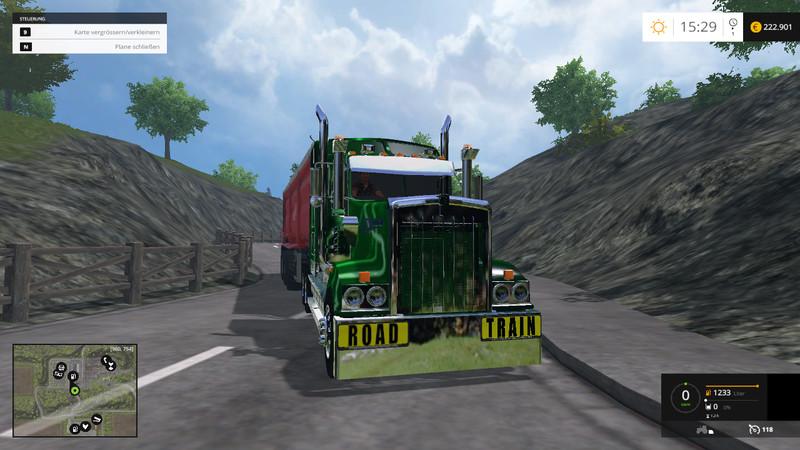 FS 15: Road Train Signs v 1 0 Addons Mod für Farming Simulator 15