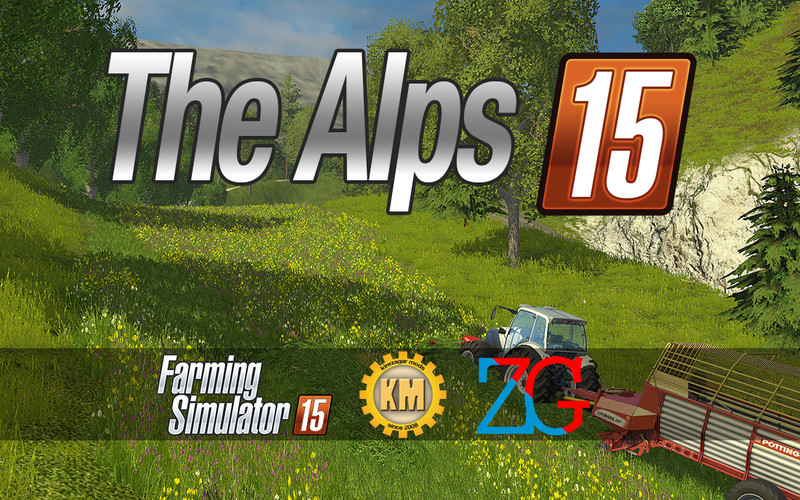 FS 15: The Alps v 1 05 Maps Mod für Farming Simulator 15