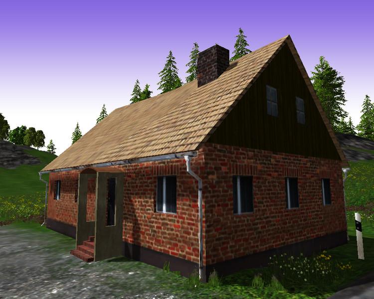 ls 15 altes haus mit ruine v 1 0 geb ude mod f r landwirtschafts simulator 15. Black Bedroom Furniture Sets. Home Design Ideas