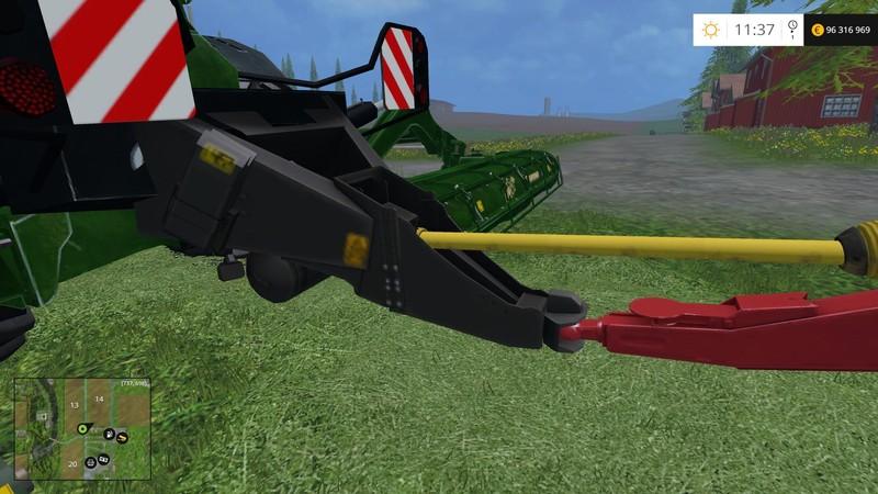 FS 15: Kone Big M500 ATTACH v 2 0 Krone Mod für Farming Simulator 15