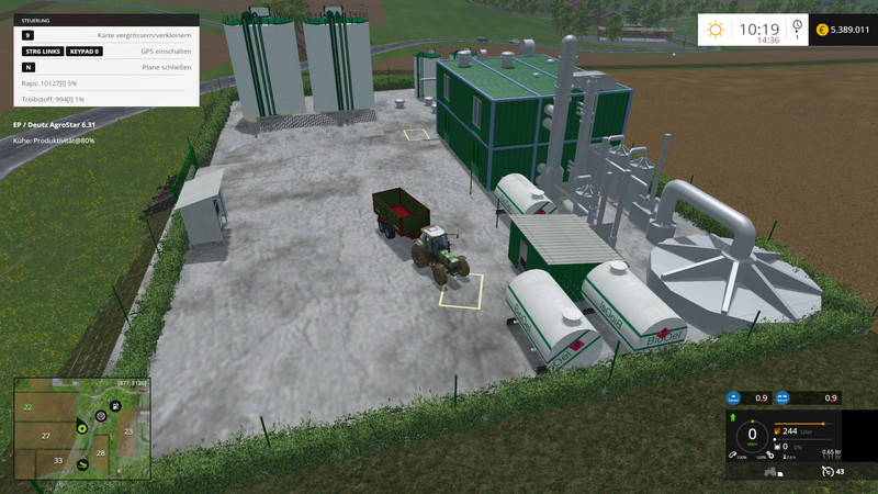 FS 15: Bio Fuel Refinery v 1 0 Placeable Objects Mod für