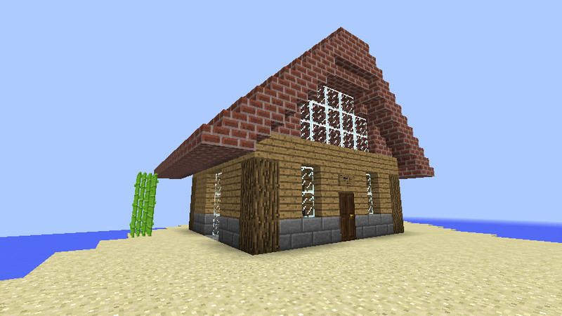 Minecraft survival map haus v 1 8 maps mod f r minecraft for Kleines minecraft haus