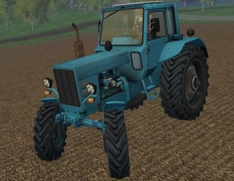 Мод МТЗ-82 и ПКУ-0.8 для Farming Simulator 2015