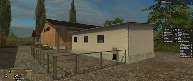 ls 15 zaun mit tor v 1 0 geb ude mit funktion mod f r landwirtschafts simulator 15. Black Bedroom Furniture Sets. Home Design Ideas