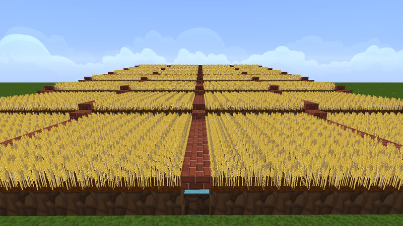 Minecraft weizen