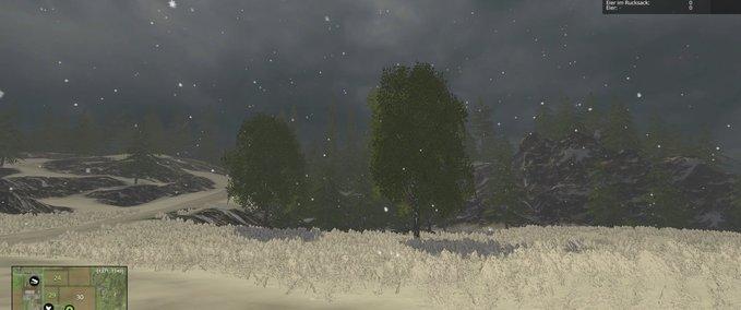 Schnee-regen
