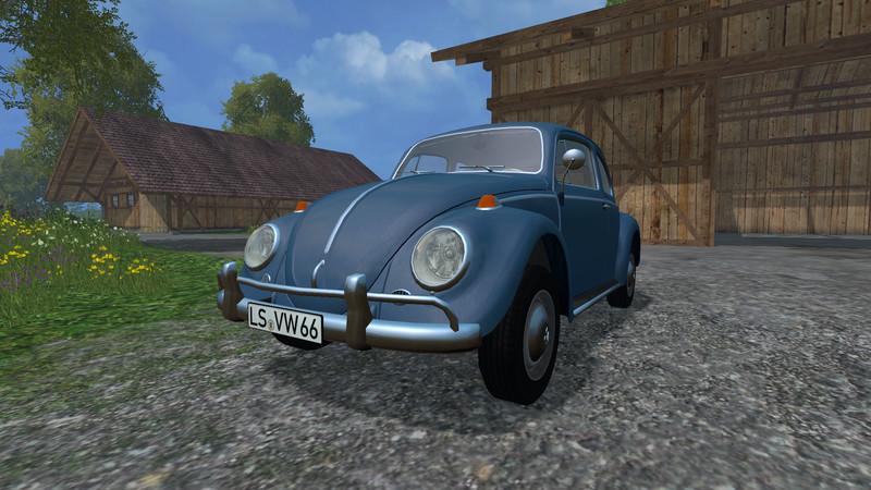 Fs 15 Volkswagen Beetle 1966 V 1 1 Cars Mod Fur Farming Simulator 15