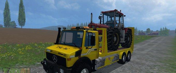 the transporter car