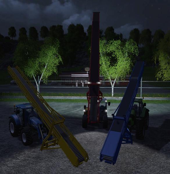 FS 15: Conveyor belt set v 3 31 Other Implements Mod für Farming