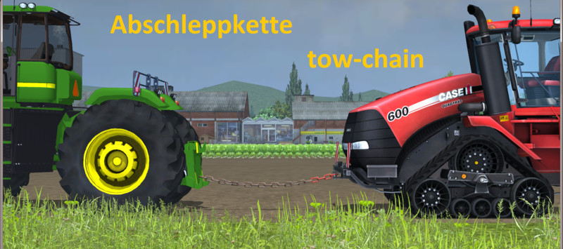 Fs 15 Towing Chain V 4 0 Beta Other Implements Mod Für Farming Simulator 15