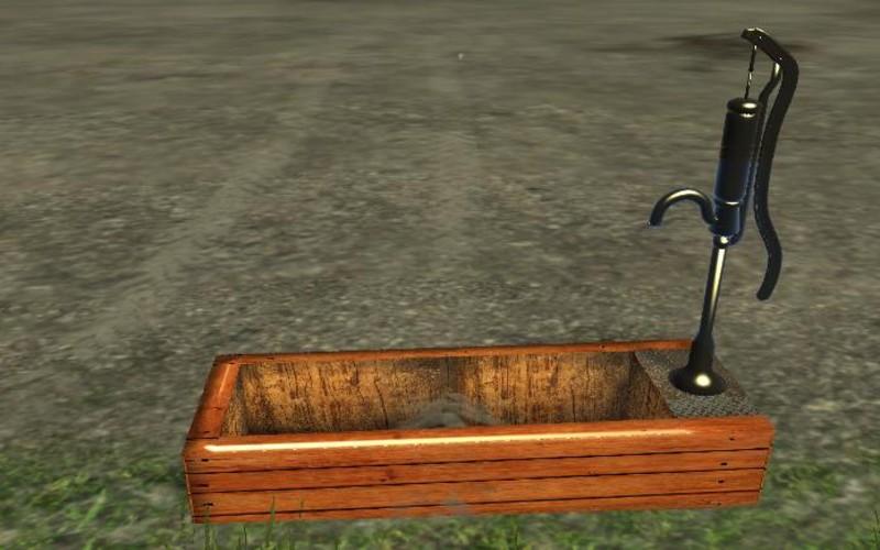 ls 15 brunnen mit pumpe v 1 0 objekte mod f r. Black Bedroom Furniture Sets. Home Design Ideas