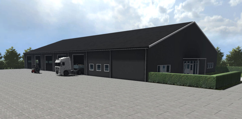 fs 15  garage hall v 1 0 buildings with functions mod f u00fcr