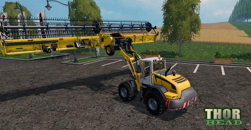 FS 15: Header Carrier v 1.2 Other Implements Mod für ...