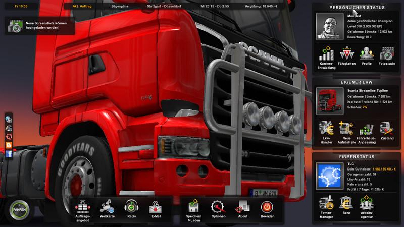Ets 2 Savegame For Ets2 V 1 15 1 Other Mod Fur Eurotruck Simulator 2
