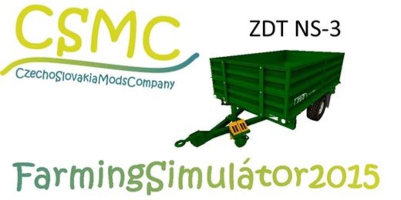 FS 15: Three Side Tipping Semitrailer NS 3 by ZDT v 1 0
