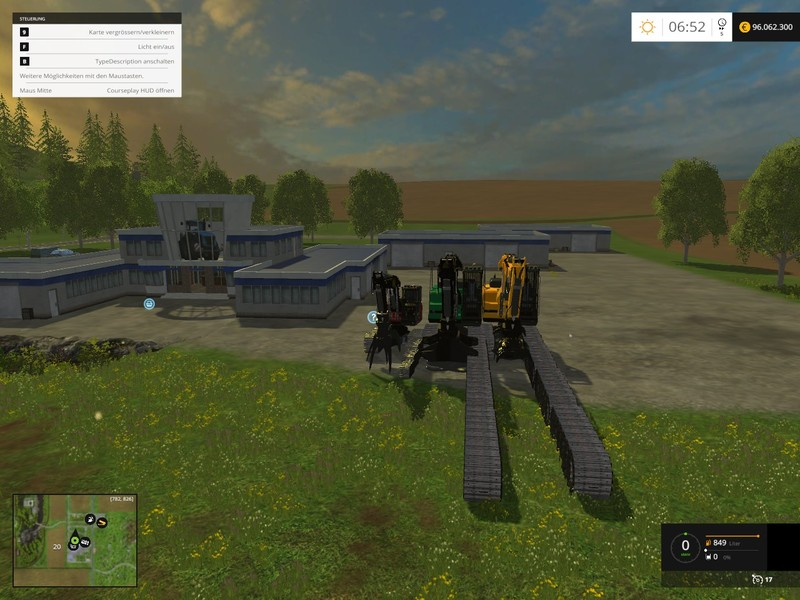 FS 15: Forestry set v 5 0 Final Mod Packs Mod für Farming