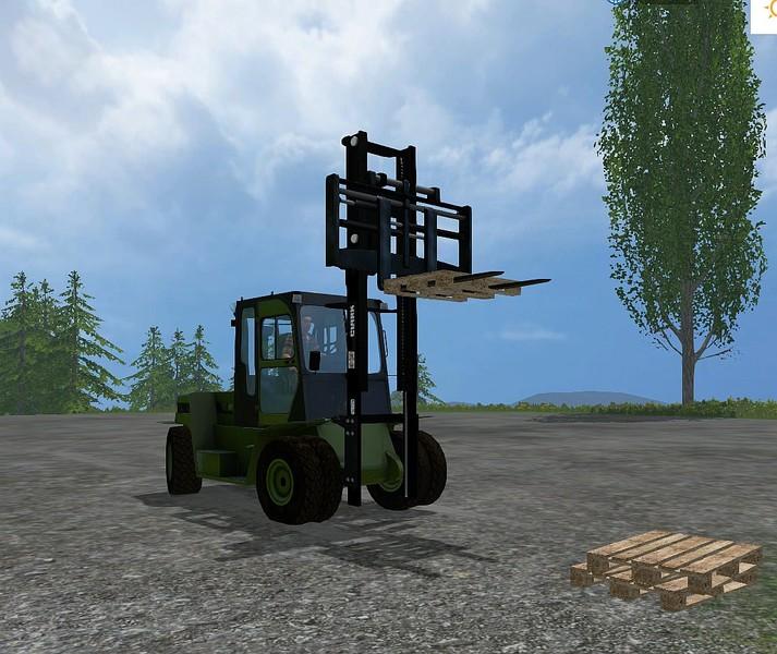 FS 15: CLARK Forklift C80 v 4 01 Gabelstapler Mod für Farming