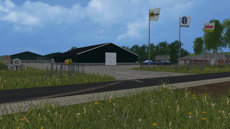 FS Friesland V Maps Mod Für Farming Simulator - Farming simulator 2015 us map feed cows