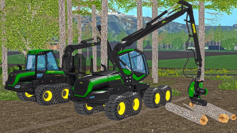 FS 15: John Deere Forestry v 1 0 Ostalgie Mod für Farming