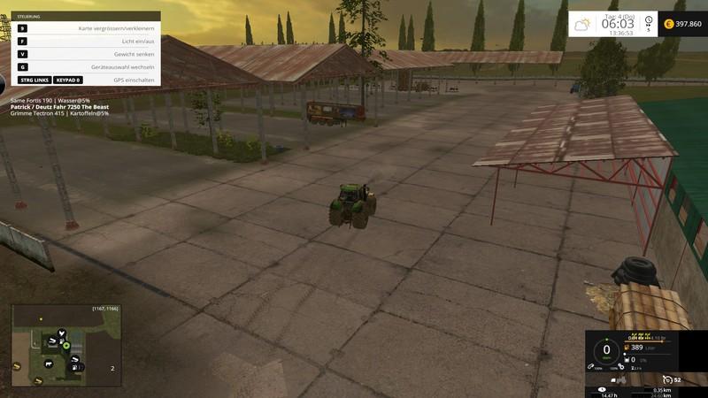 FS 15: Kujawska Poland v 1.0 Beta Maps Mod für Farming Simulator 15