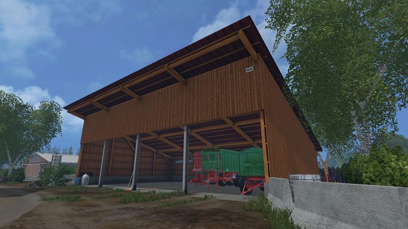 Super LS 15: Dausch Unterstand v 1.0 Gebäude Mod für Landwirtschafts #TC_48