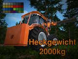 Heckgewicht-2000kg