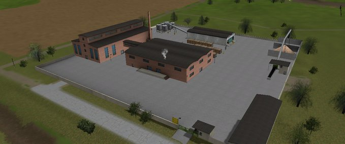 Zellstoff-fabrik