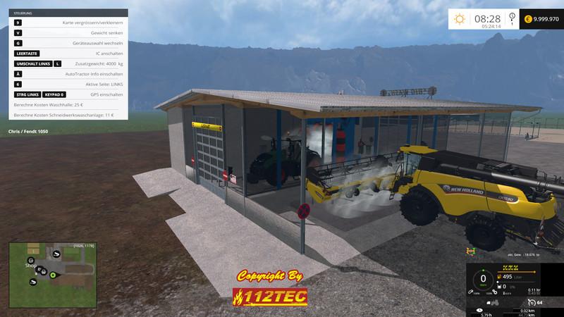 Fs 15 Car Wash V 1 1 Placeable Objects Mod F 252 R Farming