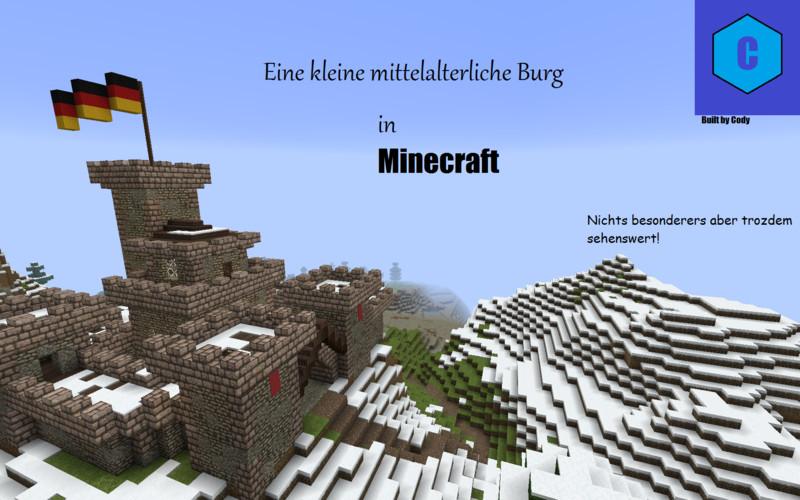 Minecraft Small Medieval Castle V Maps Mod Für Minecraft - Minecraft kleine mittelalter hauser