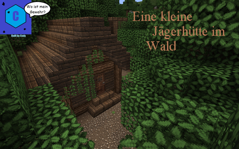 Minecraft Hunter Cabin In The Woods V Maps Mod Für Minecraft - Maps fur minecraft 1 8 8