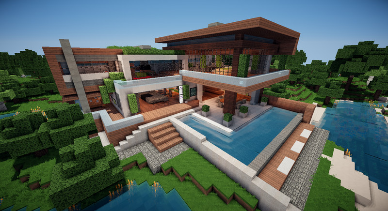 How To Build A Redstone House In Mcpe