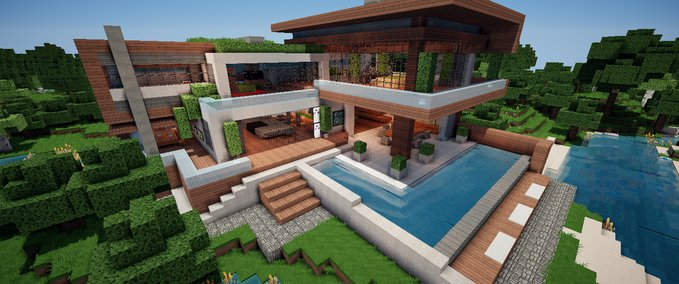 Minecraft mods minecraft mods for Minecraft haus modern