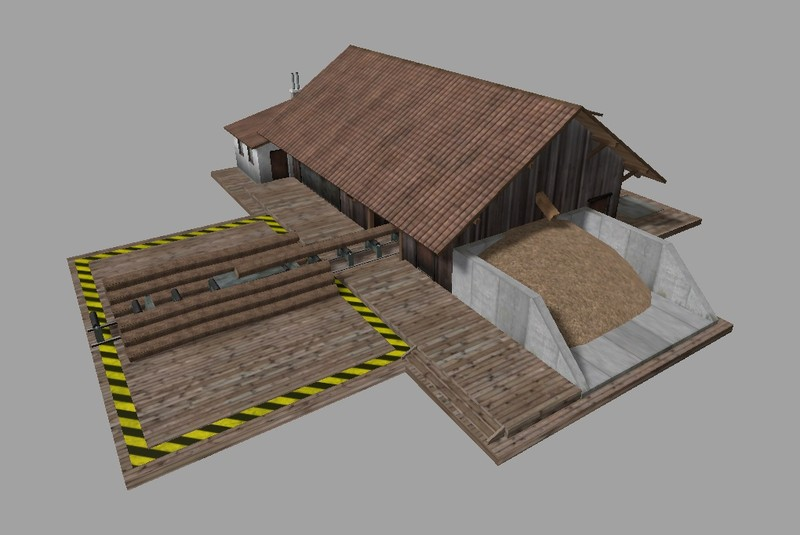 FS 15: Lumber Mill v 1 1 0b Placeable Objects Mod für Farming