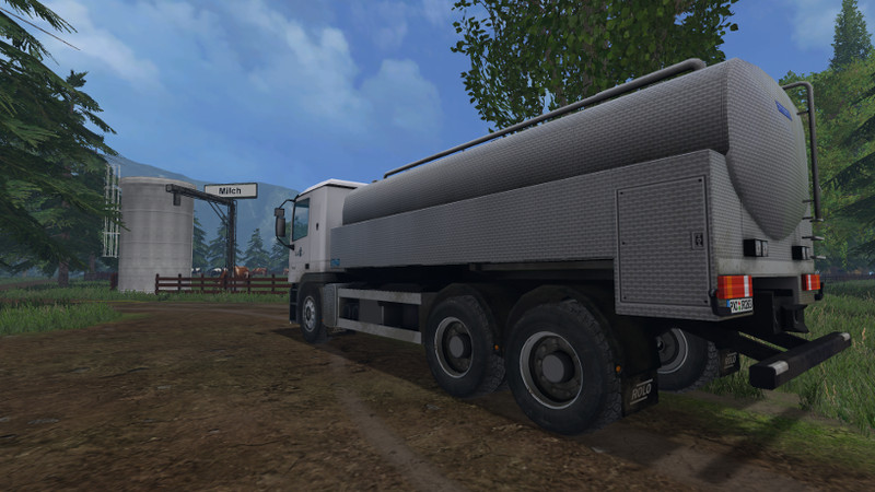 ls 15 milch truck v 1 1 lkws mod f r landwirtschafts simulator 15. Black Bedroom Furniture Sets. Home Design Ideas