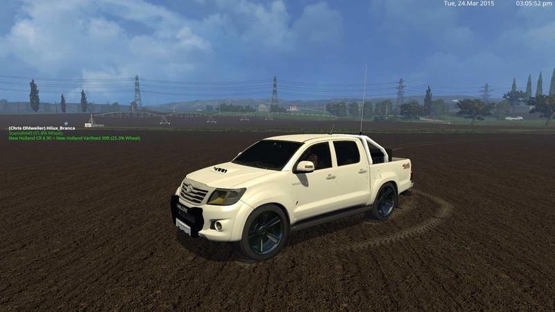 Fs 15 Toyota Hilux City V 1 2 Cars Mod F R Farming