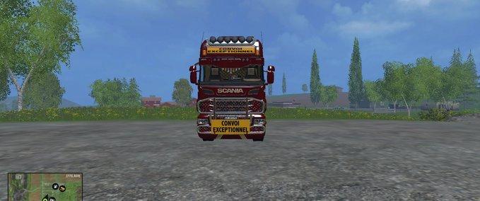Scania-schwertransport